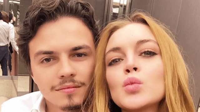 Lindsay Lohan lights up social media with accusations of her fiancé​'s two-timing.
