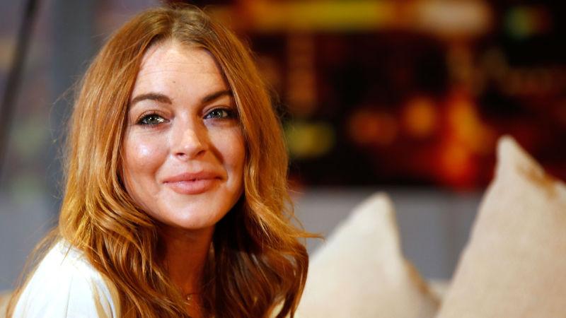 "So, Lindsay Lohan has begun the ""semi-coherent rambling"" era of her social media presence."