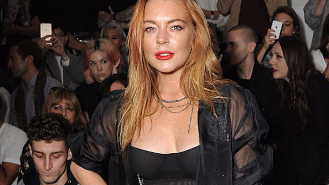Lindsay Lohan wows bar patrons and staff in the role of 'drunk celebrity hurling racist insults.'