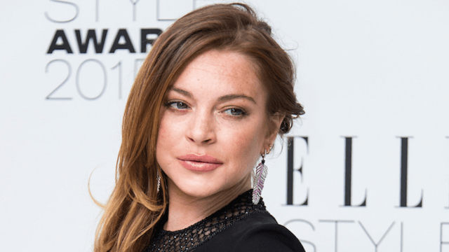 Lindsay Lohan is now speaking in a new accent for the most Lindsay Lohan of reasons.