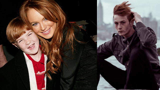 Apparently Lindsay Lohan's little brother is a super hot, freckly fashion model.
