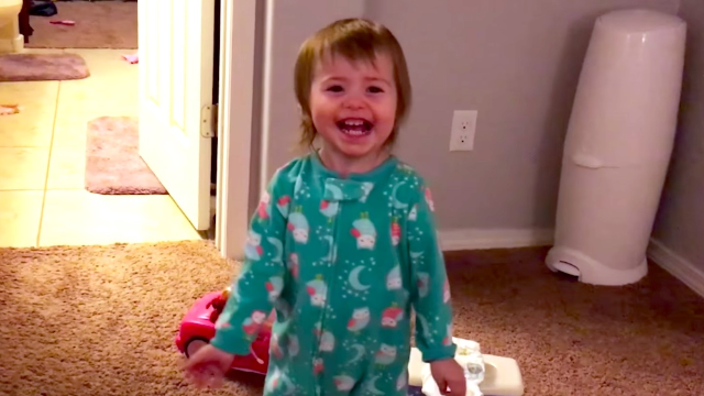 This little girl is prouder of her fart than you've ever been of anything.