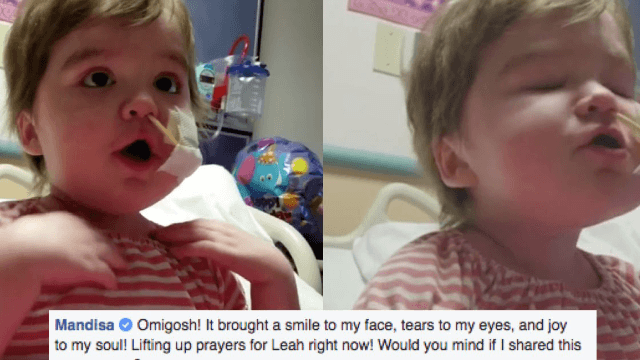Fierce little girl with rare illness sings 'Overcomer' and the internet is weeping.