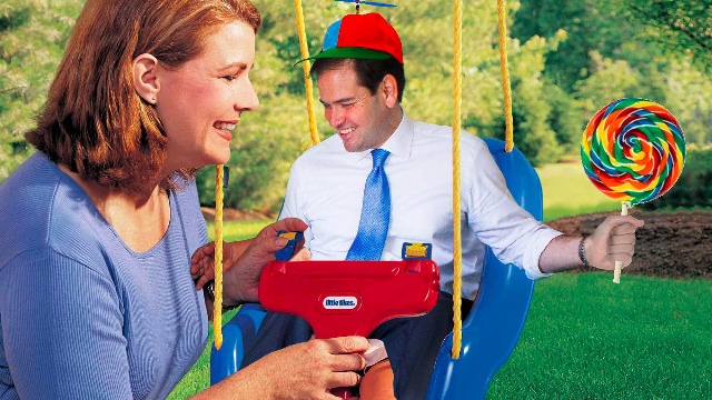 The best photoshops of 'Little Marco' Rubio's unwise decision to let the Internet see him sitting in a giant chair.