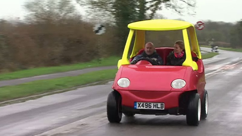 You can now buy a 70 mph adult version of the little tikes for Little tikes motorized vehicles