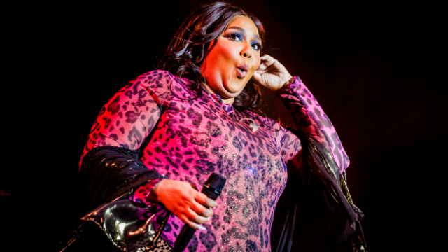 Lizzo responds to man who claims she's only popular because of obesity epidemic.