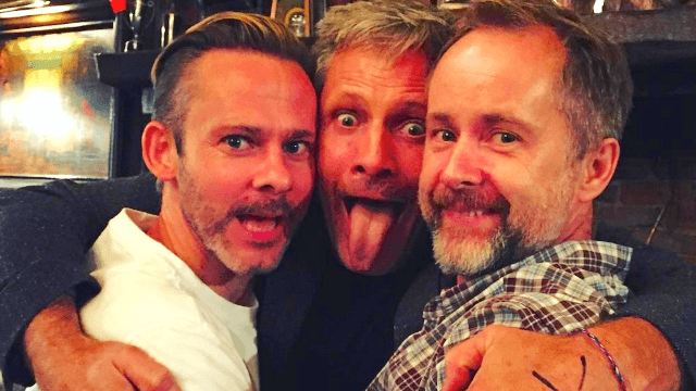 One third of the 'Fellowship of the Ring' got together and had way too much fun.