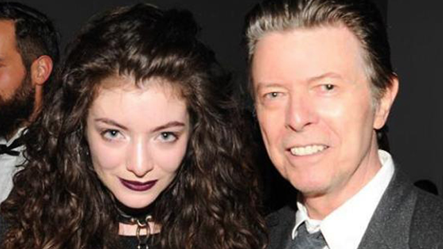 Lorde posts heartfelt story about the time she met 'rock and roll alien angel' David Bowie.