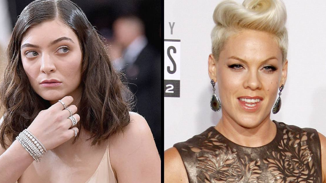 Fans are slamming Lorde for her shady reaction to Pink at the Grammys.