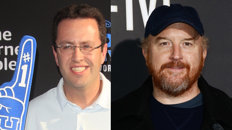Louis C.K. says Jared Fogle proves the point of that controversial 'SNL' monologue he did last year.