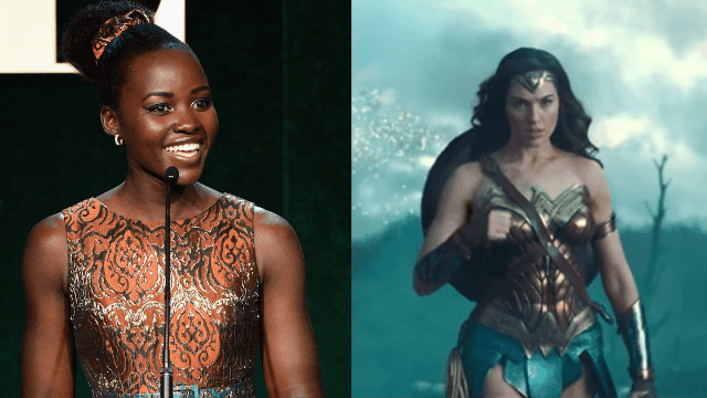 Lupita Nyong'o is more excited about 'Wonder Woman' than we've ever been about anything.