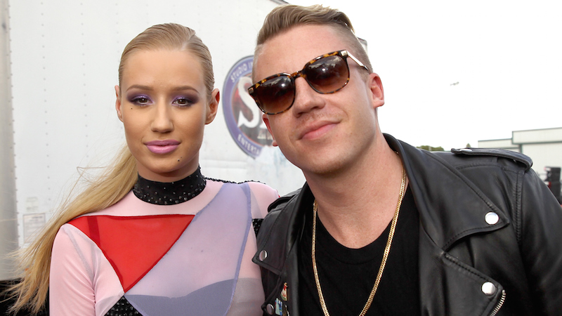 Macklemore calling out Iggy Azalea for cultural appropriation is the tile calling the toilet white.