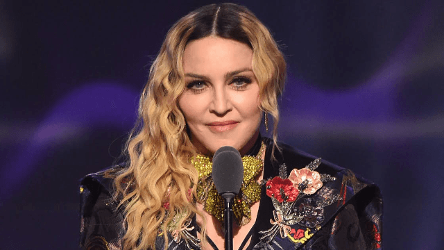 Madonna can't receive a FedEx package because she's Madonna. The internet is trying to help.
