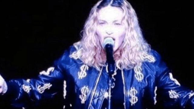 Madonna graphically describes the oral sex she'll give anyone who votes for Hillary Clinton.