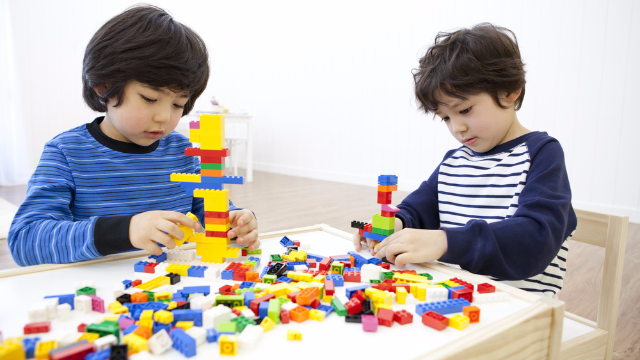 There's a 'Build the Wall' Lego knockoff for kids and it's getting dragged across all borders.