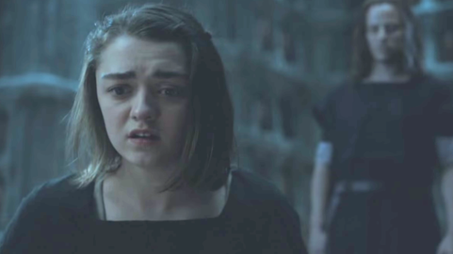"Maisie Williams tweets her hilarious reaction to the ""Game of Thrones"" finale."