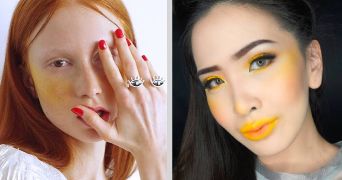 Yellow Blush Is The Latest Makeup Trend We Don T