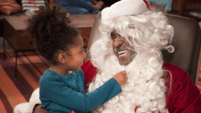 The Mall Of America hires a black Santa to help spread holiday cheer for the first time ever.