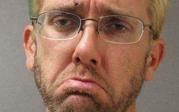 Man arrested after trying to order Taco Bell drive thru on a bicycle has saddest mugshot ever.