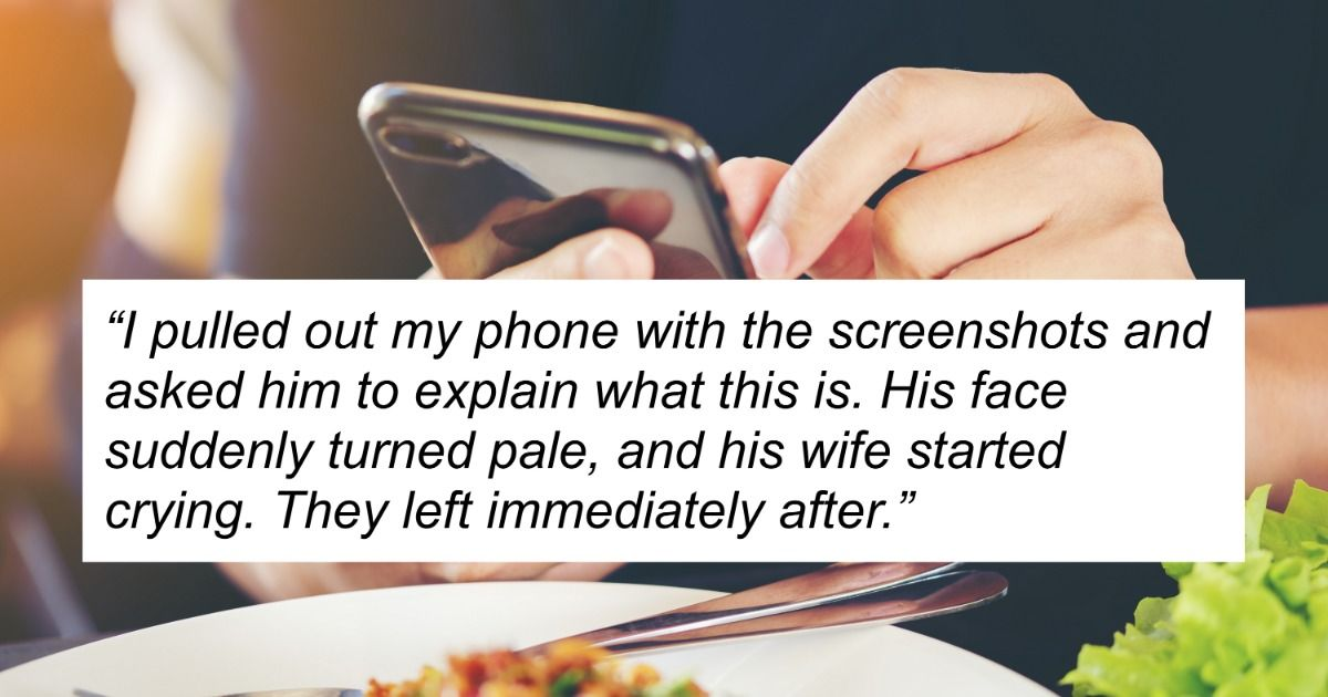 Man asks if he was wrong for exposing his homophobic uncle's use of gay dating apps at Thanksgiving.