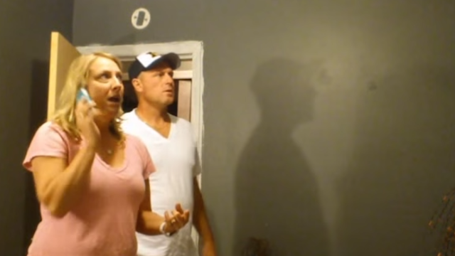 Man finds out he's going to be a grandpa, secretly does a little dance.
