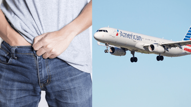 Woman alleges that American Airlines did nothing when a man masturbated next to her on a plane.