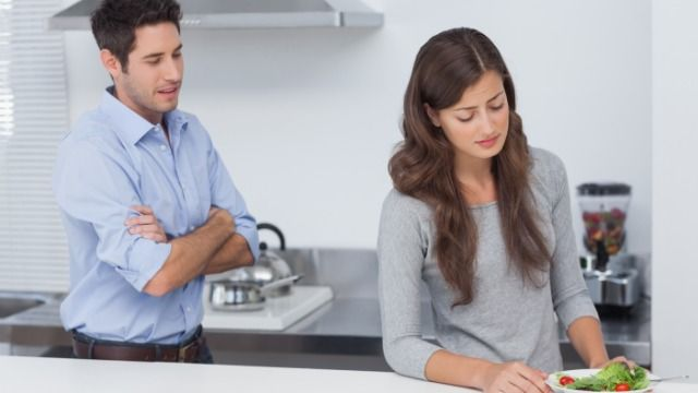 Man asks if it's okay to have wife who's on a diet cook different meals for him.