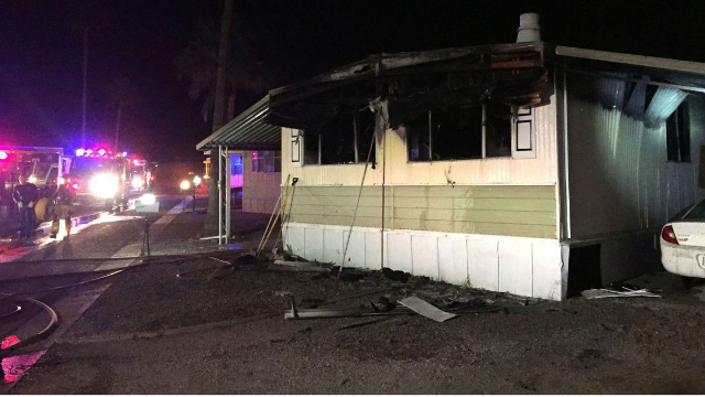 Man sets house on fire while killing spider. He officially wins the award for 'worst day ever.'