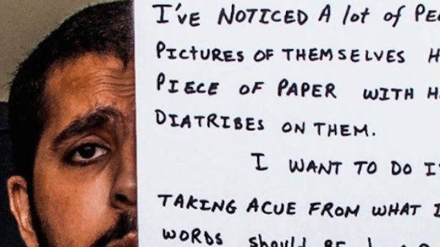 Prepare to see the world in a whole new light after reading what this man wrote on a piece of paper.