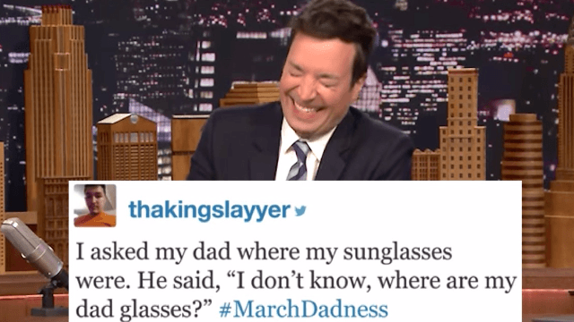 Jimmy Fallon read Twitter's best dad jokes. You'll laugh and groan at the same time.