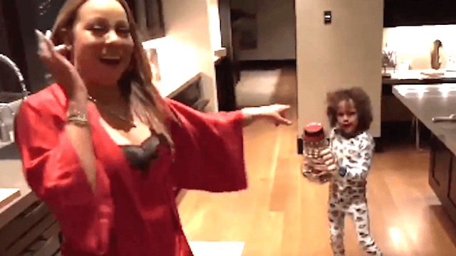 Mariah Carey and her son dance to 'All I Want For Christmas Is You' in the cutest video of the holiday so far.