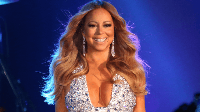 Mariah Carey's two huge billboards were banned because of two other huge things.