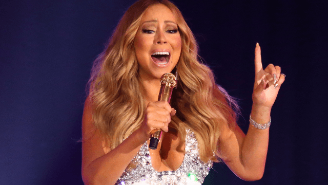 Mariah Carey's diamond bath wins for 'Least Relatable Celebrity Instagram.'
