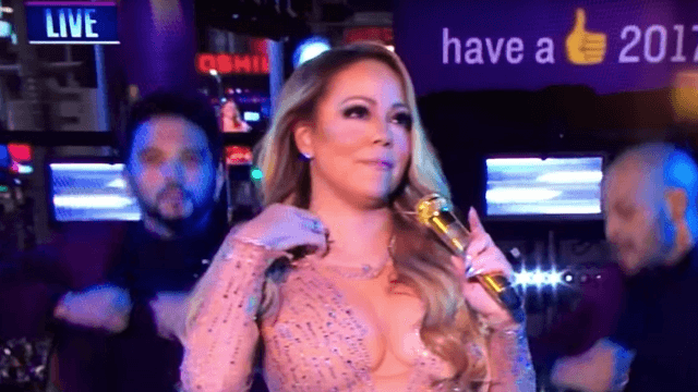 Mariah Carey's team desperately explains why her NYE performance was everyone else's fault.