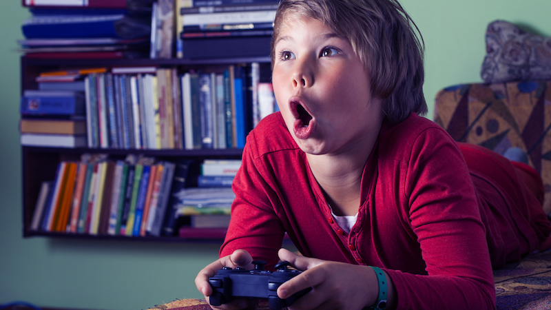 Parents say this kids' video game contains a very bad word, and the evidence is on their side.