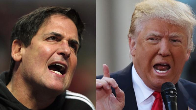 Mark Cuban says Donald Trump would be kicked off 'Shark Tank' immediately.