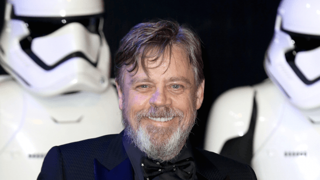 Ask Mark Hamill for an autograph, and he'll delightfully mock you and the movie you love.