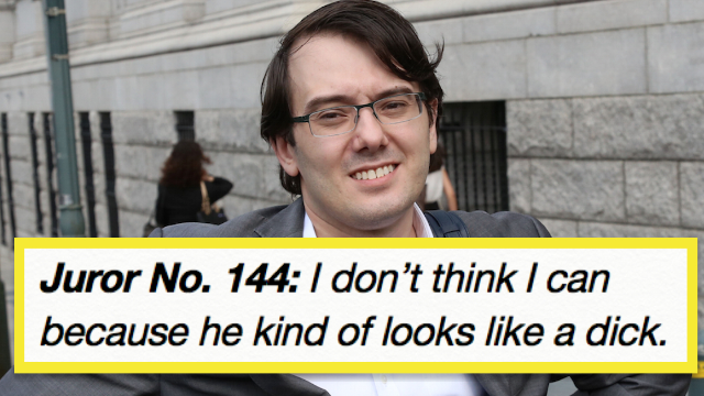 Rejected jurors hated Pharma Bro Martin Shkreli as much as you do. Here's what they said.