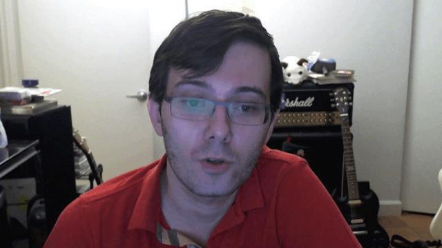 Cool guy Martin Shkreli suspended from Twitter (again) for harassing female journalist.