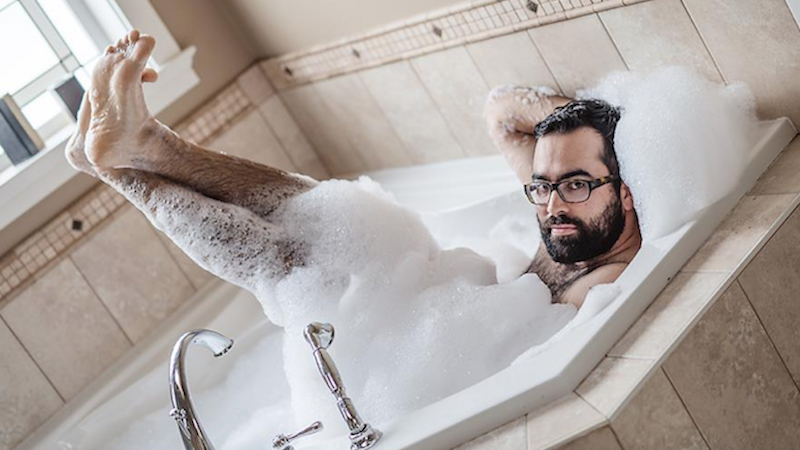 A photographer shared a set of 'dudeoir' photos, and it will make you completely reconsider sexiness.