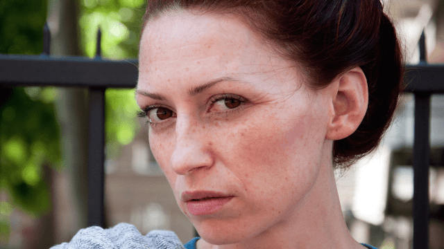 Match.com pisses off gingers with freckle-shaming ad.