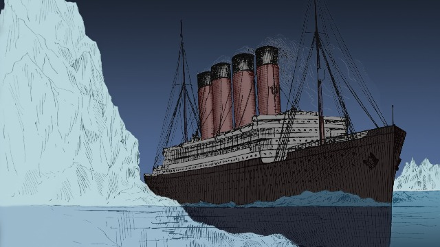 Man gets mocked for comparing medical experts to the people who built the Titanic.