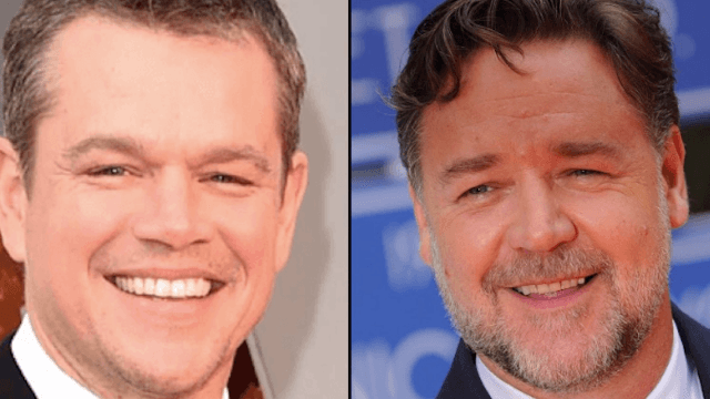 Matt Damon and Russell Crowe helped kill a 2004 story about Harvey Weinstein's disgusting behavior towards women.