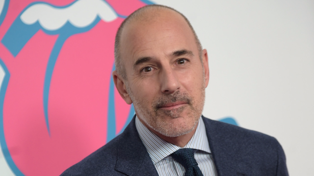 People are having a range of reactions to Matt Lauer getting fired this morning.