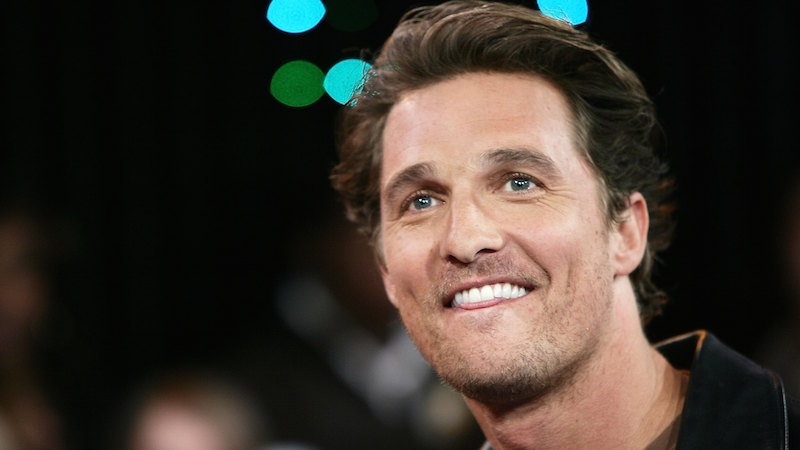 Something is missing in the new McConaughey car commercial and it's not alright alright alright.