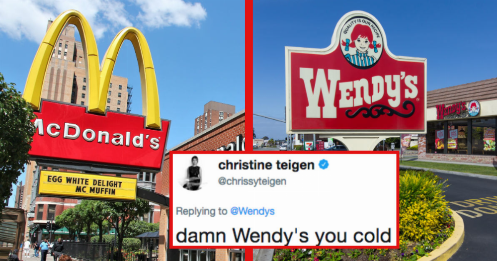 Mcdonalds Made A Mistake On Twitter And Wendy S