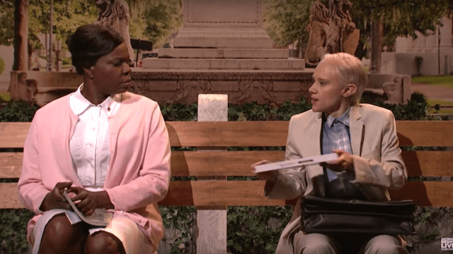 Kate McKinnon as Jeff Sessions as Forrest Gump is the 'SNL' cold open we needed.