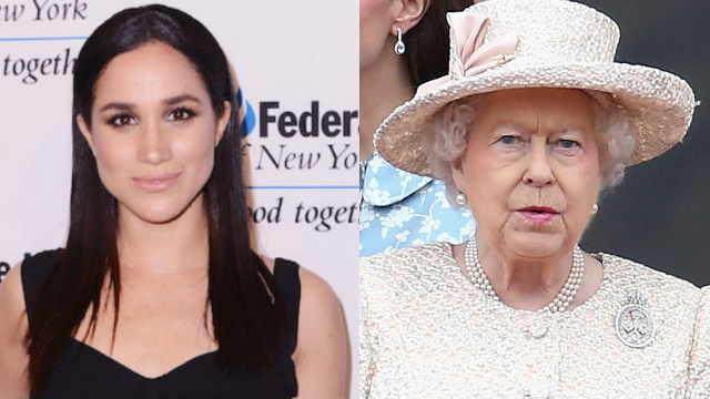 Meghan Markle gave the Queen a hilarious Christmas gift that 'left her in hysterics.'