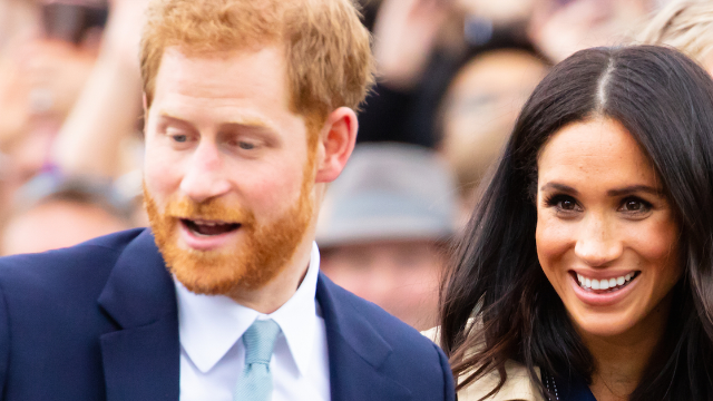 Meghan Markle gave birth to the royal baby and Prince Harry had the cutest reaction.