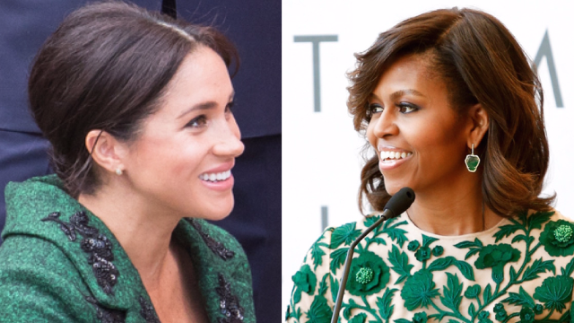 Meghan Markle interviewed Michelle Obama and got parenting advice: 'give them space to explore.'